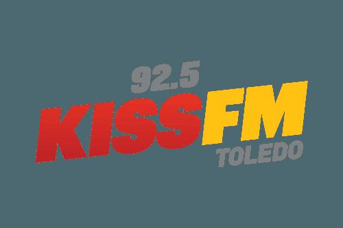 92.5 Kiss FM logo